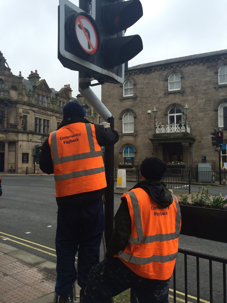 Otley BID Street Furniture Refurbishment