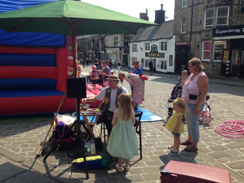 Otley Market Place Entertainment