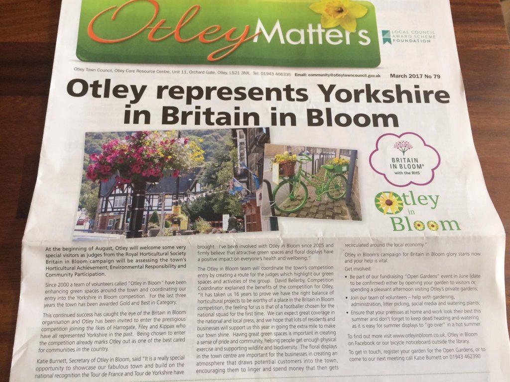 Otley In Bloom