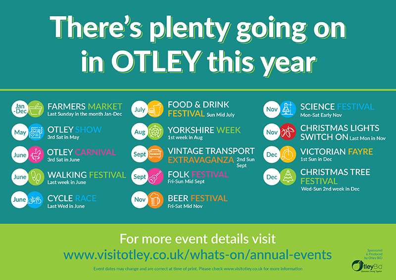 May 2017 Update - Whats On In Otley - Visit Otley