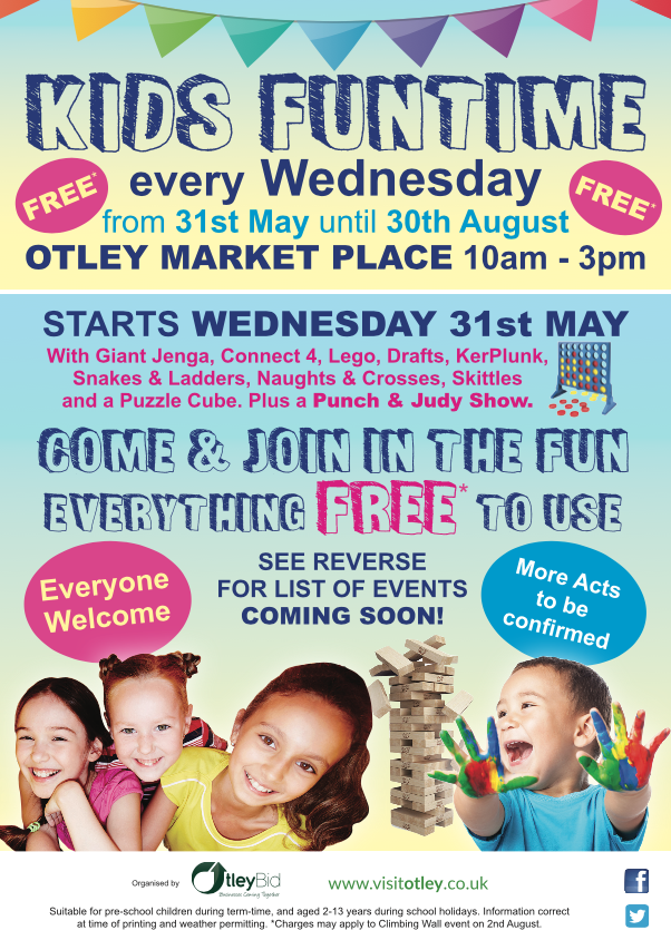 May 2017 Update - Kids Funtime Otley