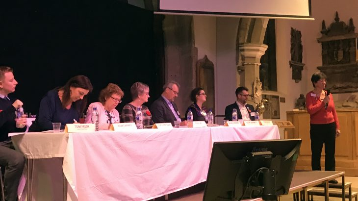 Otley Summit Panel, Otley Bid, West Yorkshire