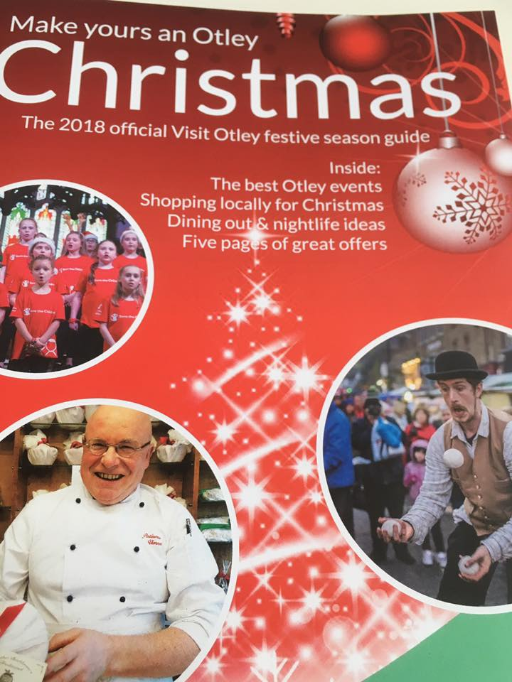 OTLEY BID CHRISTMAS BROCHURE