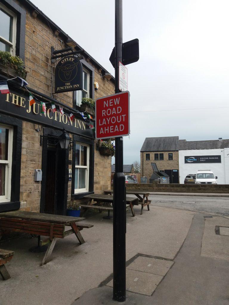 OTLEY BID CLEAN UP New Road Layout Ahead - Junction Pub