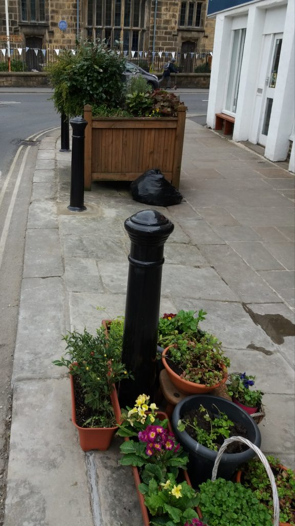 Otley BID Conservation Bollards