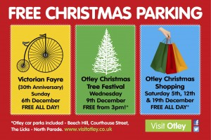 Otley Free Christmas Parking