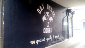 Bay Horse Court Mural - After