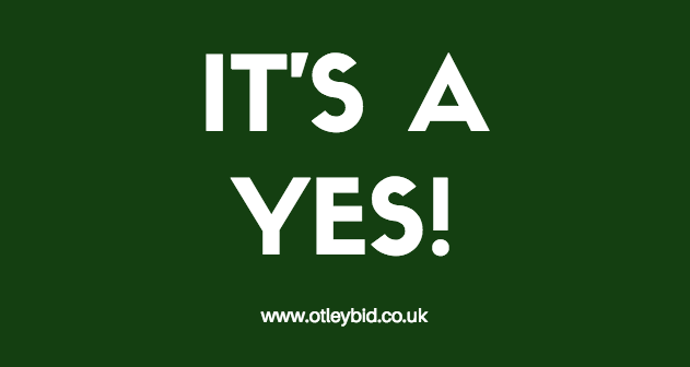 Otley BID Yes Vote