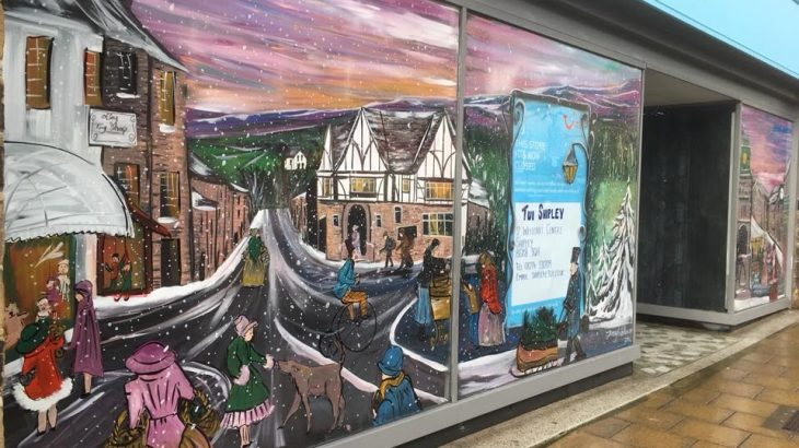 OTLEY BID JENNY TRIBILLON WINDOW ART