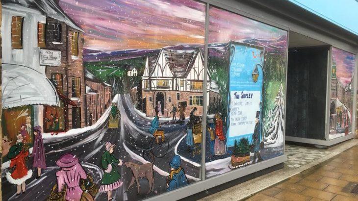 OTLEY BID JENNY TRIBILLON WINDOW ART