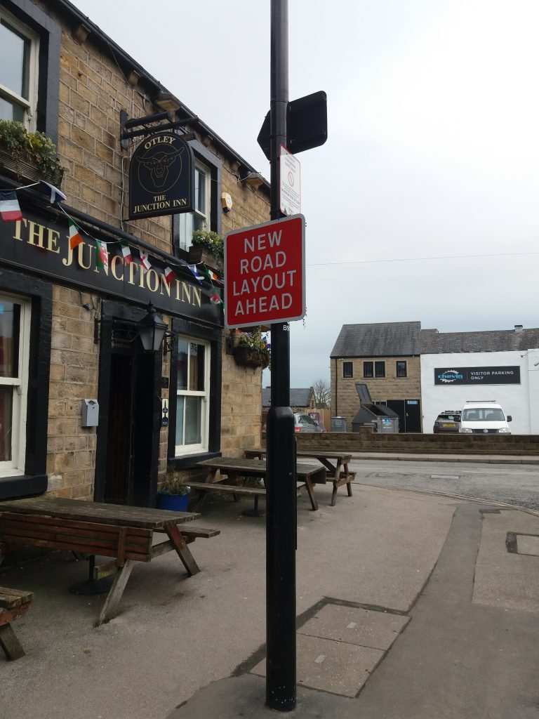 OTLEY BID CLEAN UP New Road Layout Ahead - Junction Pub