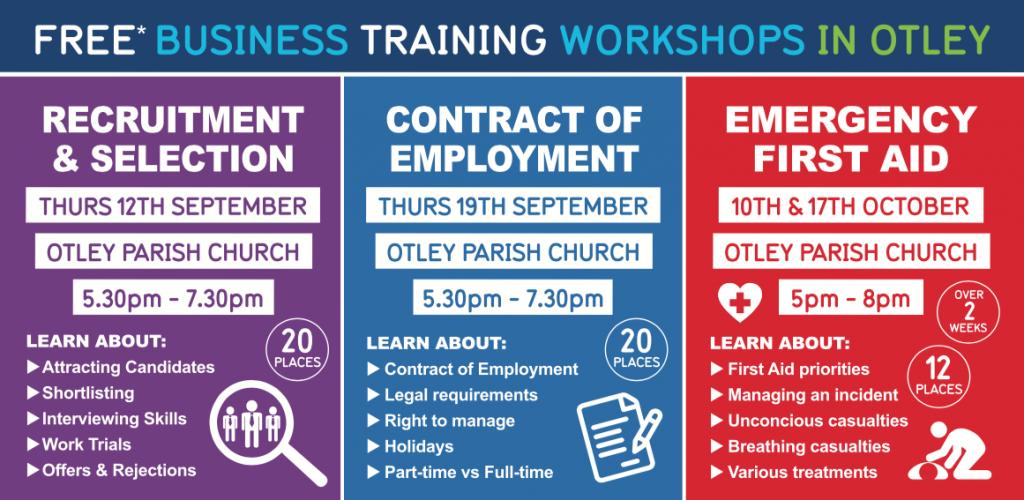 Otley BID Training Courses