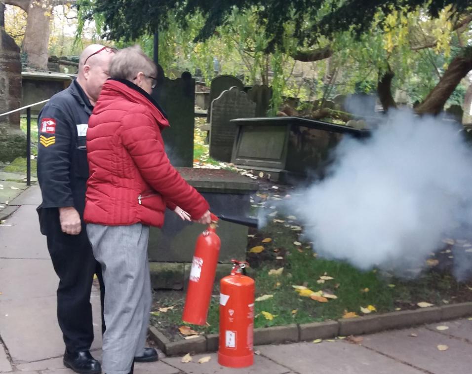 Otley BID Fire Safety Training